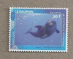 Sellos del Mundo : Oceania : Polynesia : Delfín