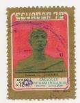 Stamps : America : Ecuador :  Caciques Indoamericanos