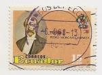 Stamps Ecuador -  Dr. Pedro Moncayo y Esparza