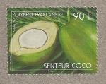 Stamps Oceania - Polynesia -  Coco oloroso