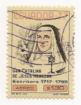 Stamps Ecuador -  Sor Catalina de Jesús Herrera