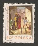 Stamps of the world : Poland :  Pintura polaca del siglo XVI