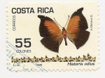 Stamps Costa Rica -  Mariposa