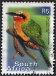 Sellos de Africa - Sud�frica -  Whitefronted bee-eater