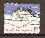 Sellos de Europa - Bosnia Herzegovina -  ASOCIACIÓN  DE  PRISIONEROS  DE  GUERRA