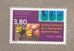Stamps France -  50 Aniv. del Instituto de Investigaciones Agronómicas