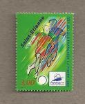 Stamps France -  Saint- Etienne Estadio Copa del Mundo 1998
