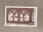 Stamps France -  Abadía de Thoronet en el Var