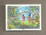 Stamps New Caledonia -  Mejores deseos para 2008