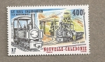 Stamps New Caledonia -  Locomotora