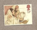 Sellos de Europa - Reino Unido -  Navidad 1984