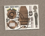 Stamps United Kingdom -  Diversos micros de la BBC