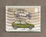 Stamps United Kingdom -  coches diversas épocas