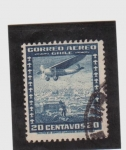 Stamps America - Chile -  correo aereo