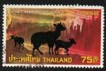 Sellos de Asia - Tailandia -  Goral del Himalaya