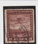 Stamps America - Chile -  correo aéreo