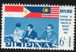 Sellos de Asia - Filipinas -  Cumbre de Manila 1963