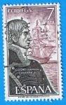 Stamps Europe - Spain -  Cosme Damian Churruca