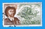 Stamps : Europe : Spain :  Juan Sebastian Elcano