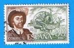 Sellos del Mundo : Europa : España : Juan Sebastian Elcano