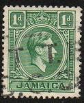 Sellos del Mundo : America : Jamaica :  Jorge VI