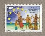 Stamps Oceania - New Caledonia -  50 Aniversario Tratado de Roma