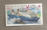 Stamps Oceania - New Caledonia -  Cable submarino