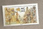 Stamps Oceania - New Caledonia -  Celebraciones N. Caledonia-N. Zelanda