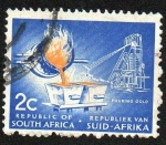 Stamps South Africa -  Oro fundido