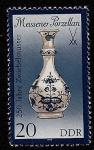 Stamps Germany -  Porcelana cebolla-azul de Meissen
