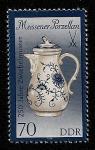 Sellos de Europa - Alemania -  Porcelana cebolla-azul de Meissen