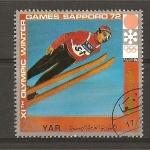 Sellos de Asia - Yemen -  Sapporo - 72.