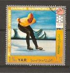 Stamps Yemen -  Sapporo - 72.
