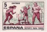 Sellos de Europa - Espa�a -  Deporte para todos