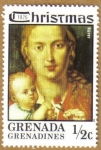 Stamps America - Grenada -  Conmemorativos Navidad