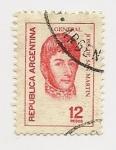 Sellos de America - Argentina -  General José de San Martín