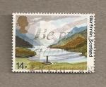 Stamps United Kingdom -  50 Aniv. creación de National Trust para Escocia