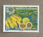 Stamps Oceania - New Caledonia -  Platano y manzana de liana
