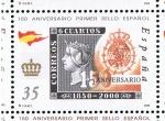 Sellos del Mundo : Europa : España : Edifil  3691  150 Aniver. del primer sello español.
