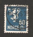 Sellos de Europa - Noruega -  235 - León heráldico