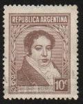 Stamps America - Argentina -  Bernardino Rivadavia