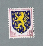 Stamps France -  Nevers (repetido)
