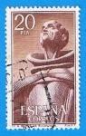 Stamps Europe - Spain -  Monasterio de san Pedro de Alcantara, (San Pedro)
