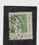 Sellos de America - Brasil -  Presidente Castello Branco
