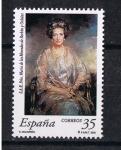 Stamps Spain -  Edifil  3706  Homenaje a S.A.R. Doña María de las Mercedes de Borbón y Orleans.