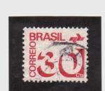 Stamps Brazil -  correo postal