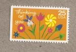 Stamps United States -  Pensando en tí