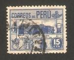 Sellos de America - Perú -  museo arqueológico de lima