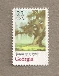 Sellos de America - Estados Unidos -  Estado de Georgia