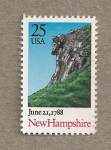 Stamps United States -  Estado de New Hampshire